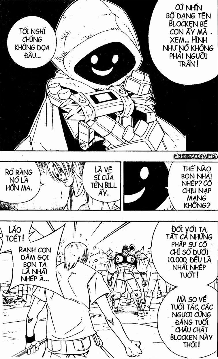 Shaman King [Vua pháp thuật] chap 182 trang 7