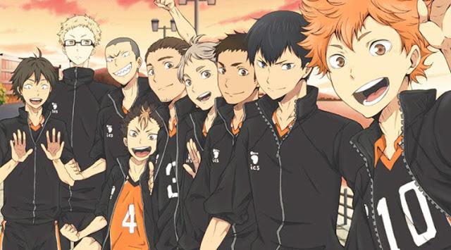 Anime shounen sport terbaik