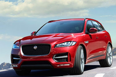 2017 Jaguar F-PACE SUV Hd Wallpaper