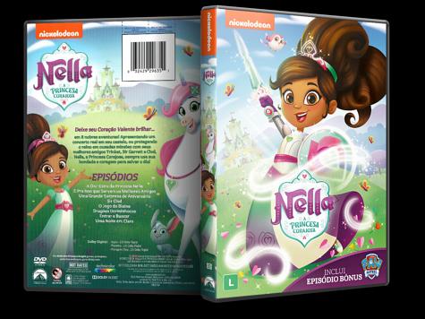 Capa DVD Nella: A Princesa Corajosa