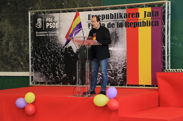 fiesta de la república del PSE de Barakaldo