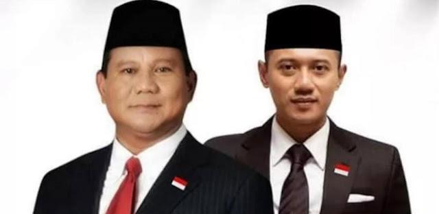 Kode Keras, Prabowo Bakal Berpasangan dengan AHY?