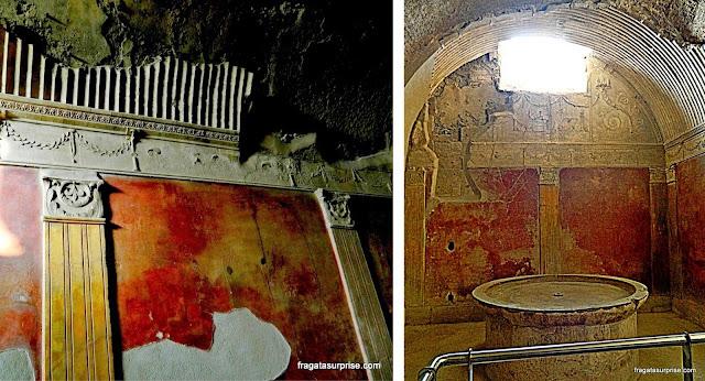 Termas do Fórum, Pompeia