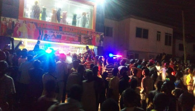 Kwabenya: Residents clash with Police over robbers