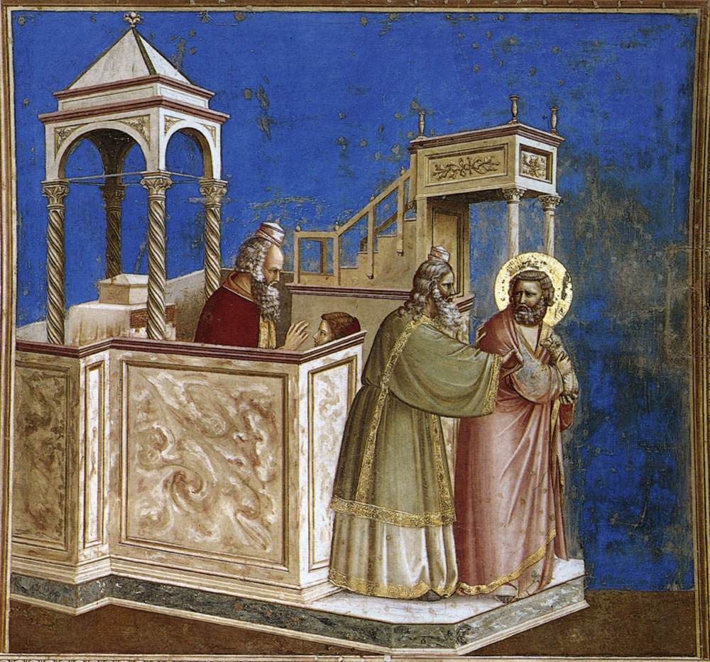 Early Morning Discussions John White Giotto The Arena