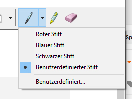 Snipping Tool Stift