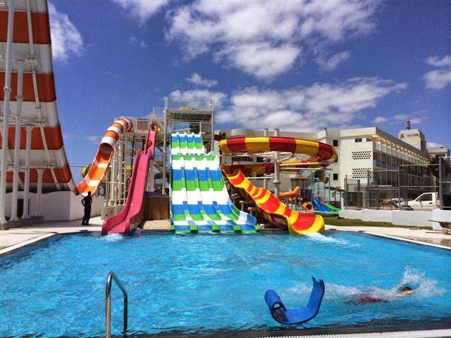Kids Have Fun In Cyprus Other Water Parks
