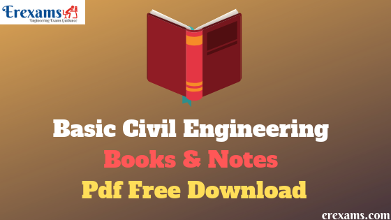 Basic Civil Engineering Books Pdf Free Download