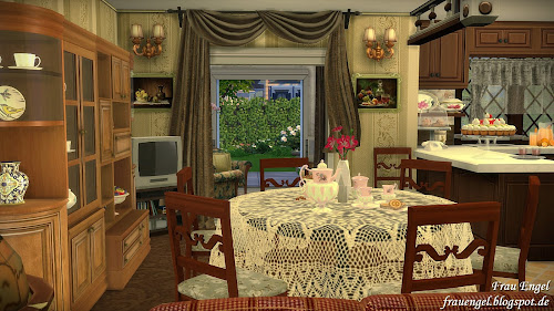Harry Porter 4 Privet Drive House for The Sims 4
