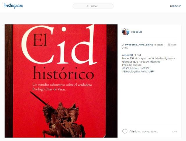 El Cid Histórico - Gonzalo Martínez Díez - Planeta - Álvaro García - el troblogdita - ÁlvaroGP - El Cid - Rodrigo Díaz de Vivar - Instagram - @repaci31