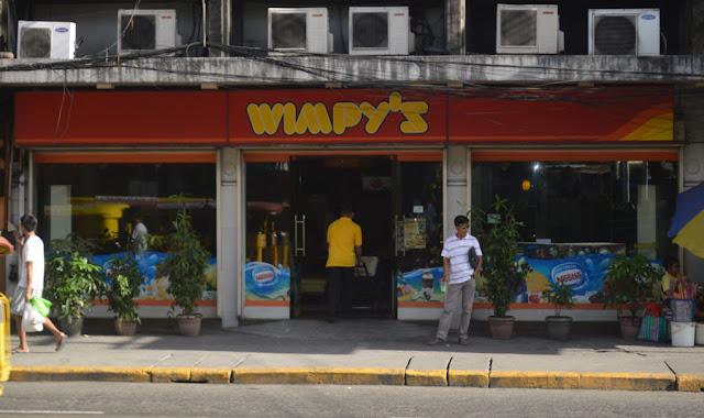 Wimpy's Branch in Olongapo City