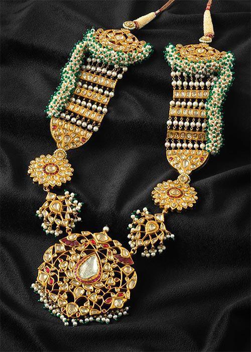 Antique Broad Sets with Colorful Beads