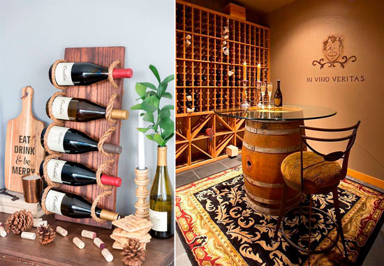 Blog de mbar muebles los muebles botelleros una bodega - Montar una vinoteca ...