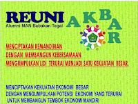 Reuni Akbar Alumni MAN Babakan - MAN Balet