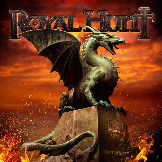 "Royal Hunt - ""Cast in Stone"" artwork 2018"