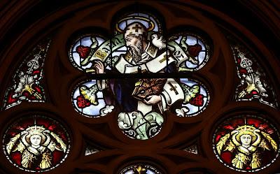 Imagem de São Basílio Magno, vitral, #1
