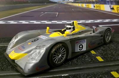 Audi R8 circuito Lemans Scalextric