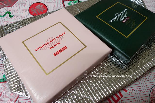 浪子 遊: [新潟行名產篇] ROYCE巧克力 - 季節限定:草莓口味,香檳口味 + 雪兔巧克力泡芙