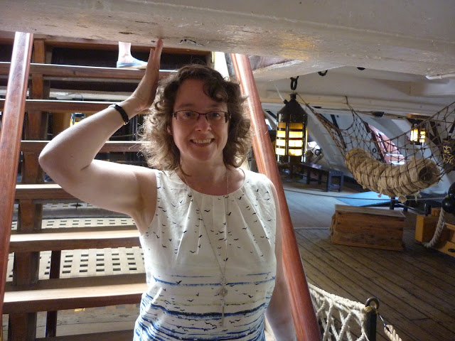 On the HMS Victory | Petite Silver Vixen