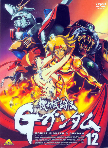 Mobile Fighter G Gundam , 機動武闘伝Gガンダム , TV , TV Asahi, Sotsu , Bandai Entertainment , Sunrise , Sci-Fi, Adventure, Space, Comedy, Sports, Drama, Romance, Martial Arts, Mecha , Anime , 1994
