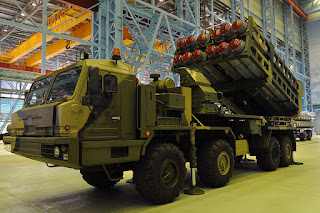 S-350 Vityaz | Air Defense Missile System