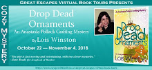 DROP DEAD ORNAMENTS BLOG TOUR--10/22-11/4