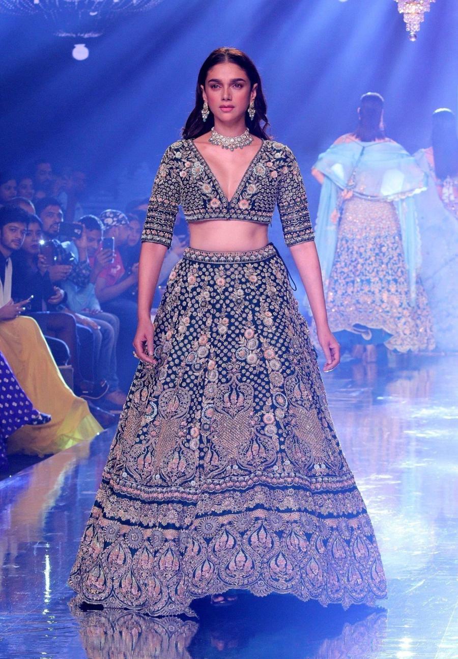 Aditi Rao Hydari At Bombay Times Fashion Week 2019