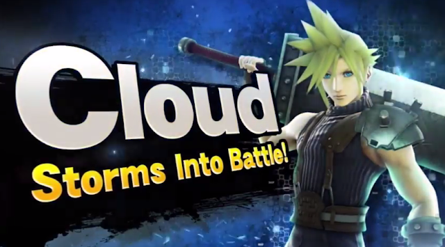 Cloud Strife is in Super Smash Bros. For Wii U DLC