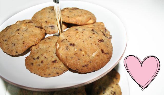 Erdnuss-Schoko Cookies rezept vegan