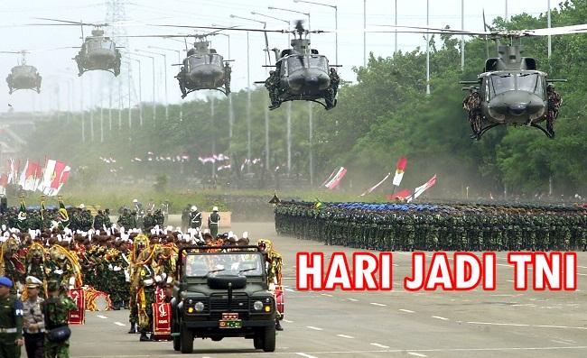 Ultah TNI Sama Dengan Hari Internasional Guru Sedunia, Berikut Tanggal Peringatanya