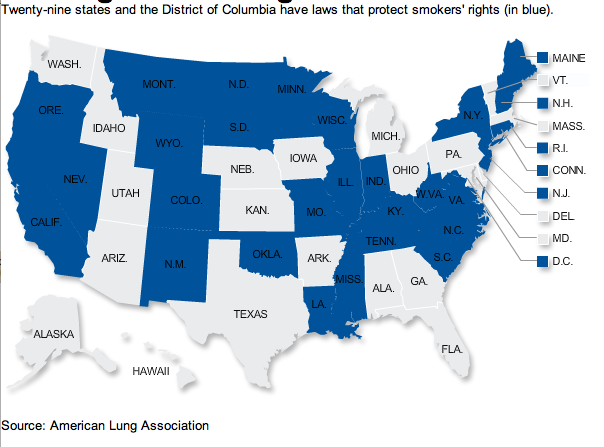 Kentucky Health News: Some employers stop hiring smokers in