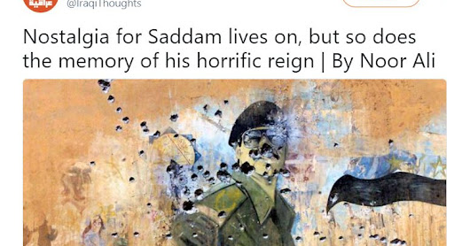 Nostalgia for Saddam Husayn - who would have thought?