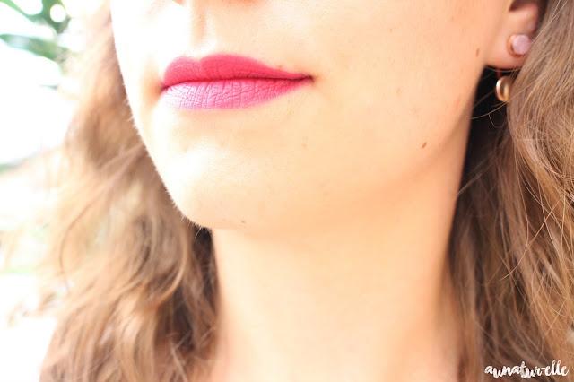 swatch rouge velvet the lipstick bourjois