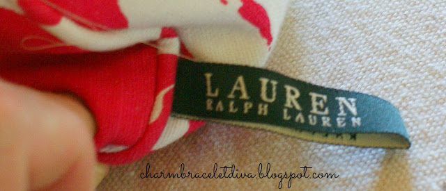 Lauren Ralph Lauren name tag