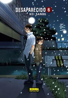 """""""Desaparecido"""" (Boku dake ga inai machi) vol. 6, de Kei Sanbe"""