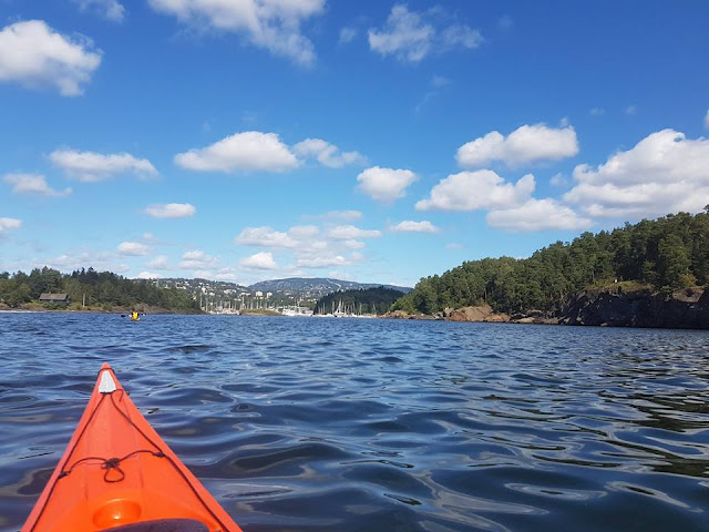 kayak kayaking oslo fjords norway