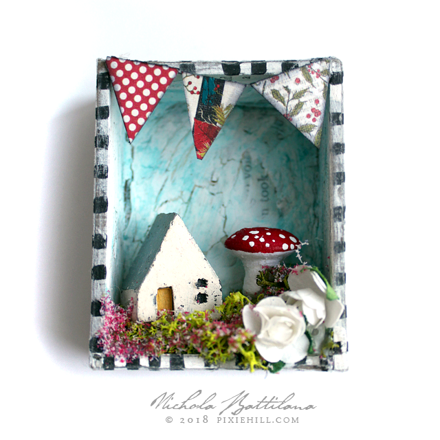 Pocket Folk Art Shrines - Nichola Battilana