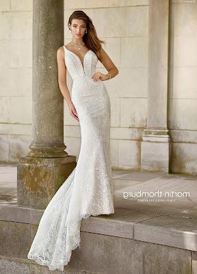 vestidos de novia sin manga