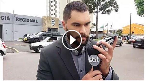 DURANTE REBELIÃO JORNALISTA RUDNEI VIEIRA FALA COM DETENTO POR TELEFONE