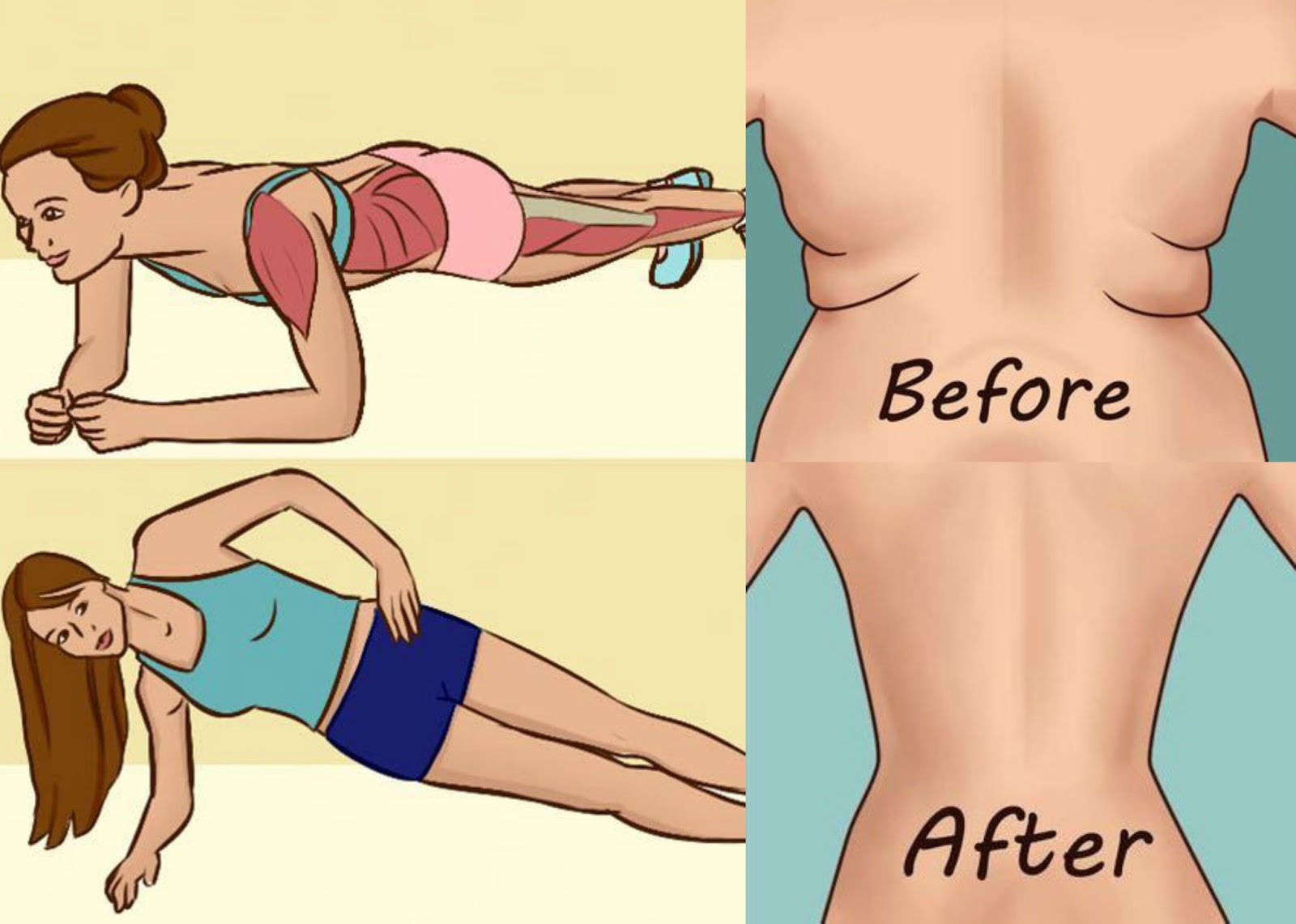 It will take 4 minutes a day to change your body- Try this one month and you will see