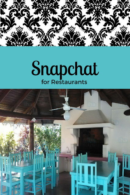 promoting your restaurant using snapchat