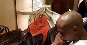 476b02a9a2f Bringing Home The Birkin  Floyd Mayweather - Because Hermes Crocodile Bags  are SO RARE - LOL!