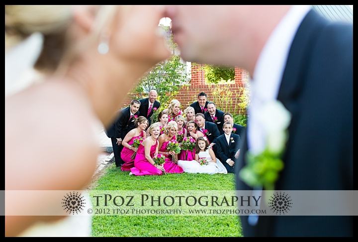 bridal party at Chesapeake Inn Wedding photos