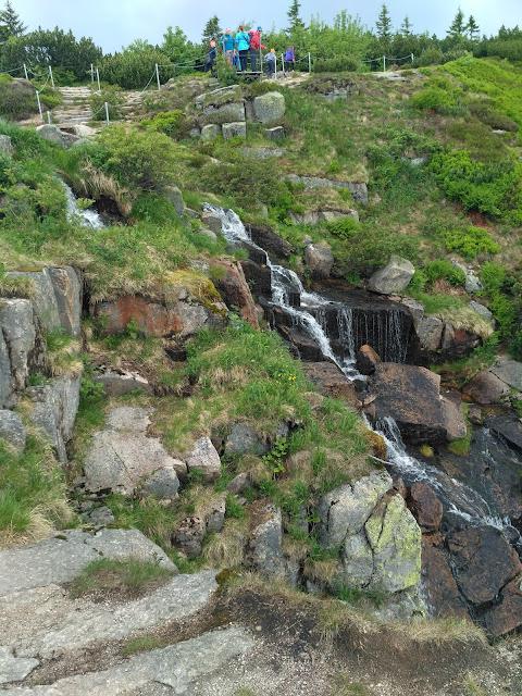 Wodospad Pancavsky, Czechy, Sudety