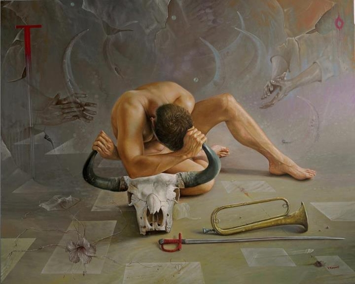Ramiro Ram C ADrez Cardona    Colombian Fantastic Realist painter   Tutt'Art@ ()