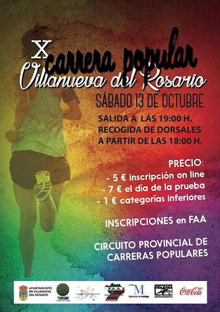 Carrera Popular Villanueva del Rosario 2018