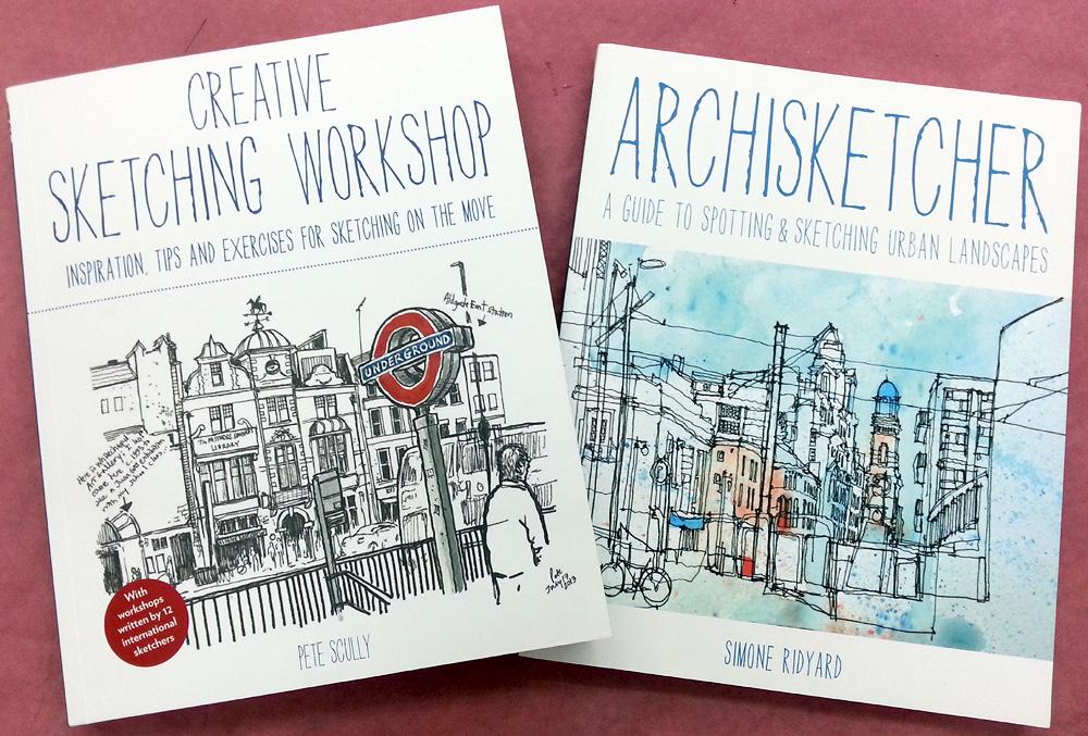 An Illustratoru0026#39;s Life For Me! Urban Sketching Books Early Christmas Presents!