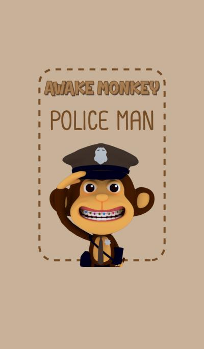 Awake Monkey Police Ver02