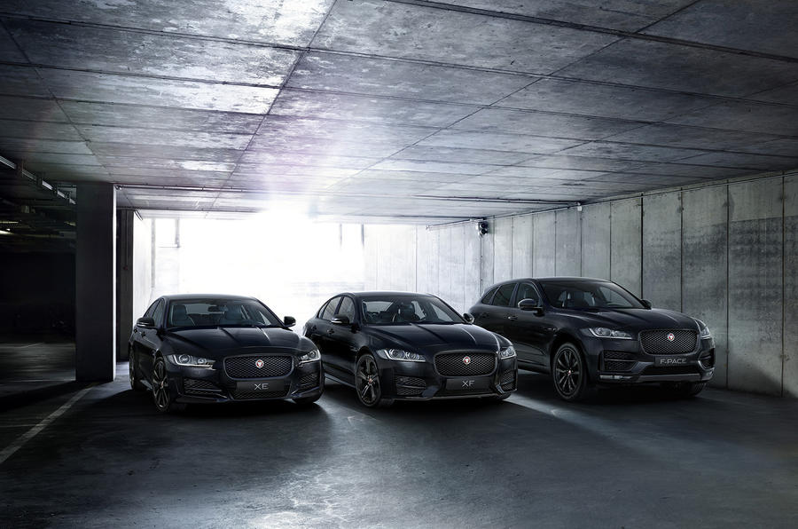 Jaguar Reveals Black Edition Models For The Holiday Season