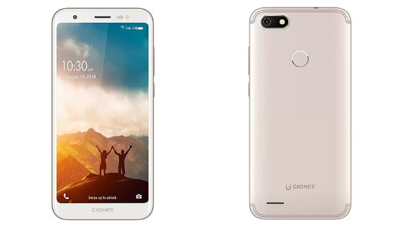 Gionee launches F20f pro in India